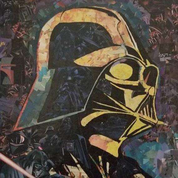 Darth Vader Mosaic Collage