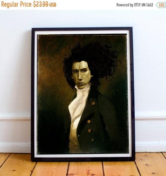 On Sale Kylo Renaissance - Kylo Ren STAR WARS Classic Painting Fine Art Print