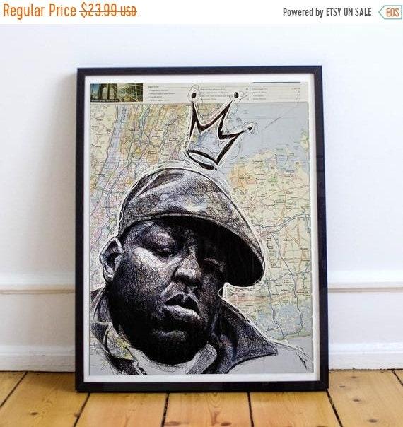 On Sale Biggie from Brooklyn - Biggie Smalls Notorious B.I.G. Limited Edition Print