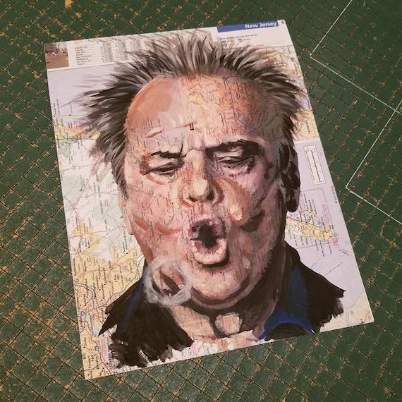 Jack Nicholson Sketch Atlas