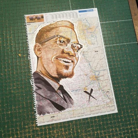 Malcolm X Sketch Atlas