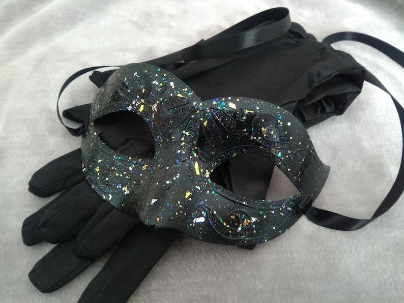 Venetian Masquerade Mask Party Fancy Dress Prom BLUE GOLD BRONZE