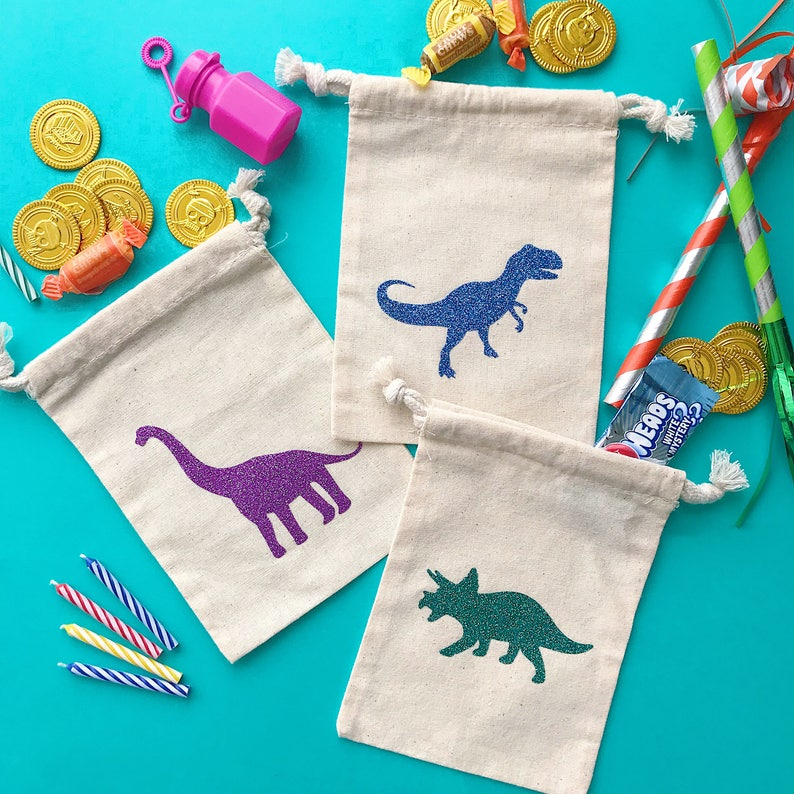 DINOSAUR PARTY FAVORS Kids Birthday Party Jurassic Park