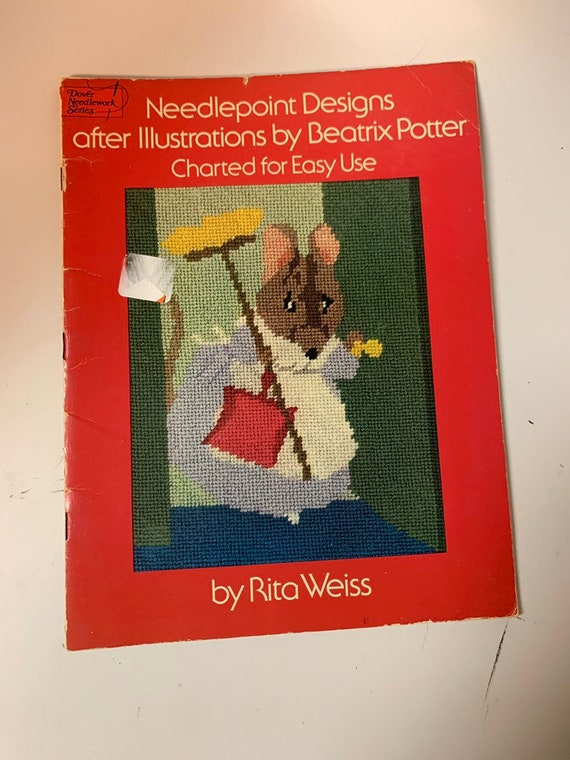 Needlepoint designs after illustrations by beatrix potter 1976