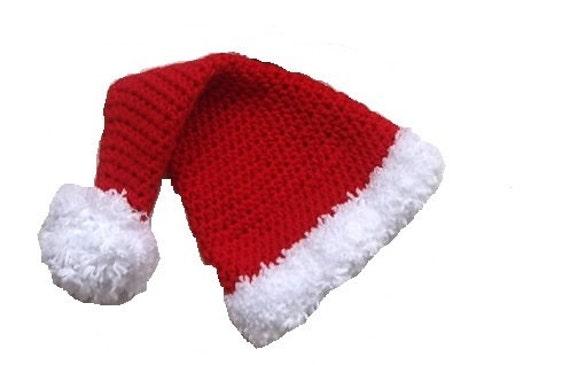 Nikolausmütze häkeln Baby Mütze Hut Foto Prop Custom Made   Etsy