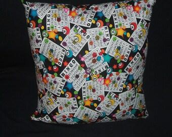 Bingo Pillow