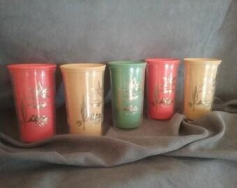 Vintage Drinking Glasses/Tumblers