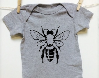 Bee Baby Clothes Etsy