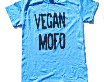 Vegan Mofo Shirt, Vegan Shirt, Vegan Tee, Vegan T-shirt, Vegan Tshirt, Vegan Clothing, Chicago