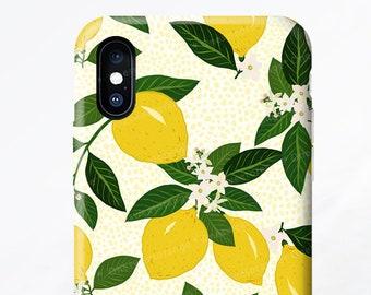 iPhone X Case iPhone 8 Case Lemon iPhone 7 Case Citrus iPhone 7 Plus Case iPhone SE Case iPhone 6 Case Samsung S9 Case Galaxy S8 Case T26
