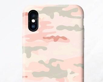 iPhone X Case iPhone 8 Case iPhone 7 Case Blush Camo iPhone 7 Plus Case iPhone SE Case iPhone Case Galaxy S8 Plus Case Galaxy S8 Case FM5