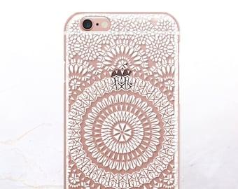 iPhone 8 Case iPhone X Case iPhone 7 Case Moroccan Clear GRIP Rubber Case iPhone 7 Plus Clear Case iPhone SE Case Samsung S8 Plus Case U57