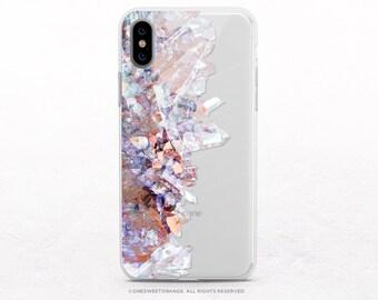 20c3d15d6c3451 iPhone XS Case Crystals Clear Rubber iPhone XS Max Case iPhone XR Case  iPhone X Case iPhone 8 Case iPhone 8 Plus Case Samsung S9 Case U216