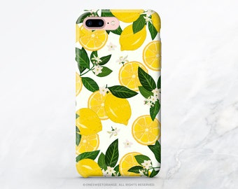 iphone xs lemon case