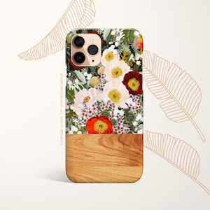 PRETTY Pastel Flower iPhone XS Case Floral iPhone 11 Pro Case Celestes Cases\u00a9 Pink and Blue Flowers iPhone 11 Pro Case,iPhone XS Floral