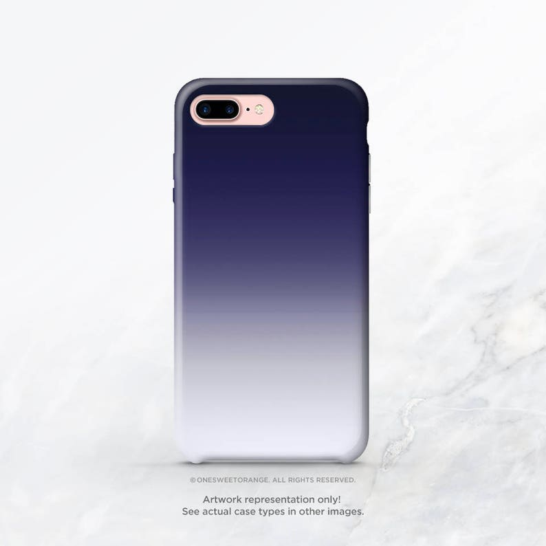 official photos 7415d ba8a7 iPhone XS Case Blue Ombre iPhone XS Max Case iPhone XR Case iPhone X Case  iPhone 8 Case iPhone 7 Case Samsung S9 Case Samsung S8 Case T133