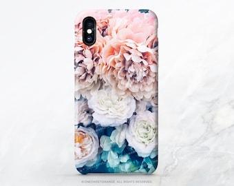 iPhone X Case iPhone 8 Case iPhone 7 Case Peonies iPhone 7 Plus iPhone 6s Case iPhone SE Case Tough Galaxy S8 Plus Case Galaxy S8 Case FM13