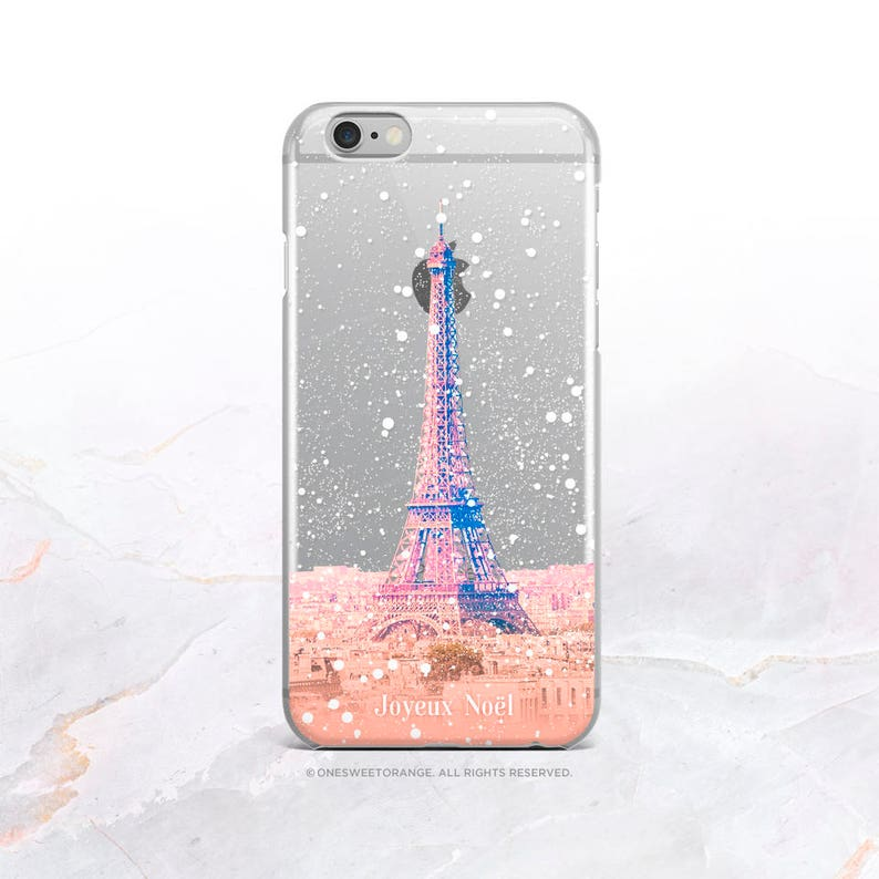best sneakers ef4b6 8ea2d iPhone XS Case Paris Christmas Clear Rubber iPhone XS Max Case iPhone XR  Case iPhone X Case iPhone 8 Case iPhone 7 Case Samsung S9 Case U332