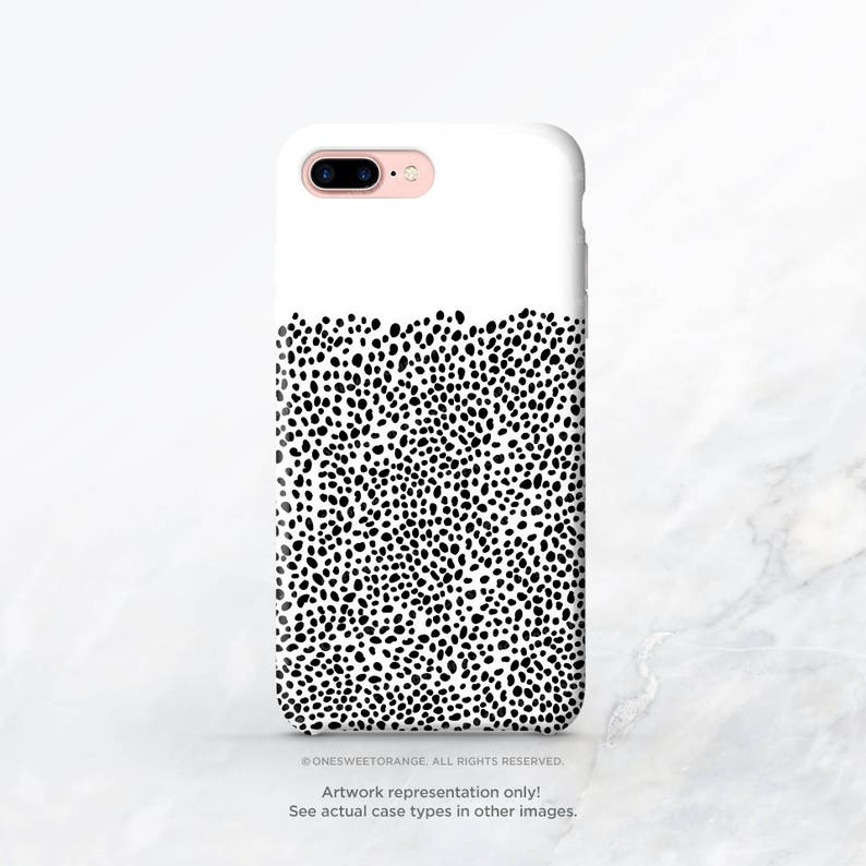 Iphone Xs Case Black Dots Iphone Xs Max Case Iphone Xr Case Iphone X Case Iphone 8 Case Iphone 7 Case Samsung S9 Case Samsung S8 Case C14