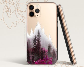 iPhone 12 Case Forest iPhone 11 Pro Case Clear Rubber iPhone 11 Pro Max Case iPhone XS iPhone XS Max iPhone XR iPhone X iPhone 8 Case U84
