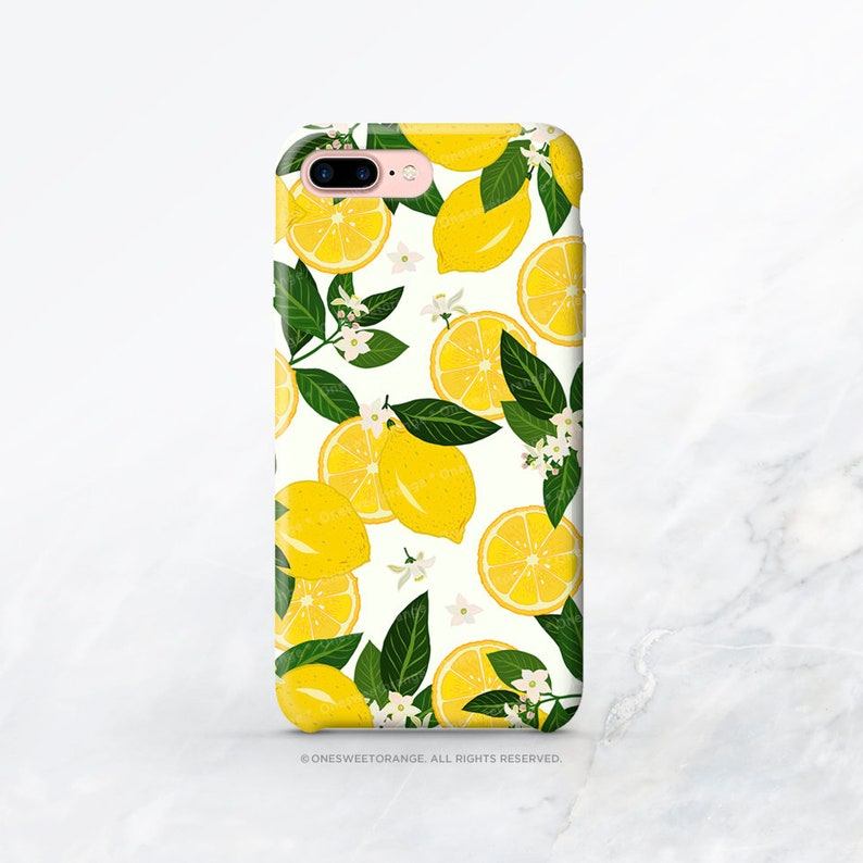 lemon iphone xs max case