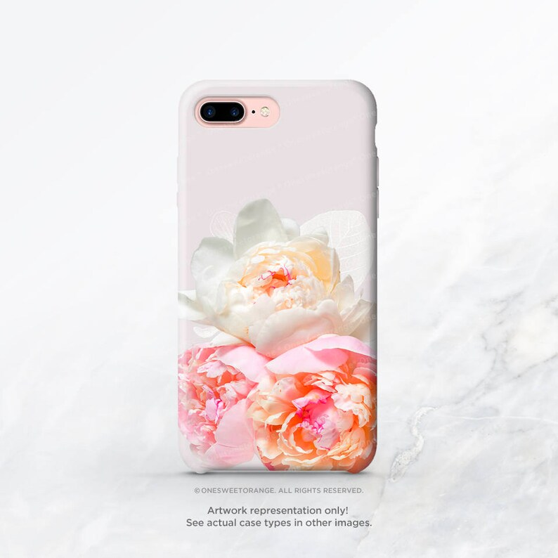 peony iphone xs case