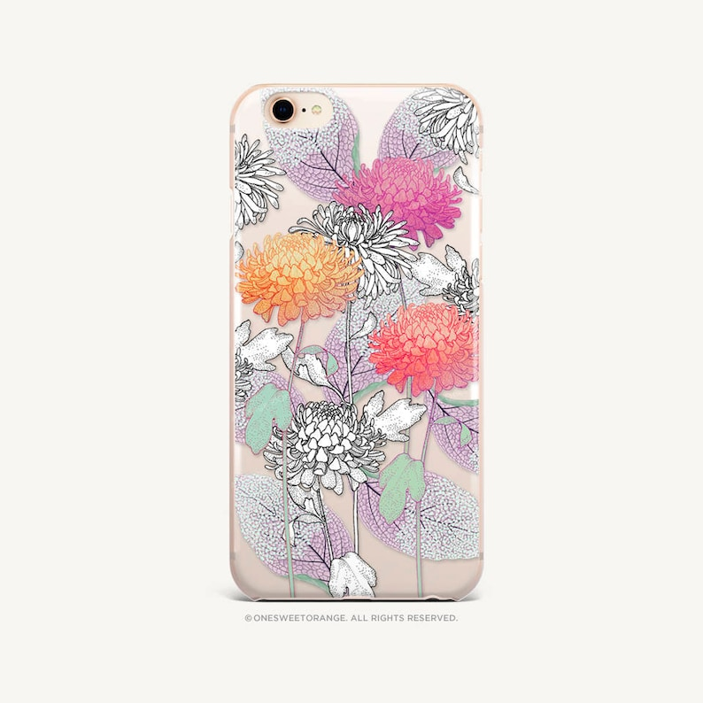 iphone 8 case dahlia
