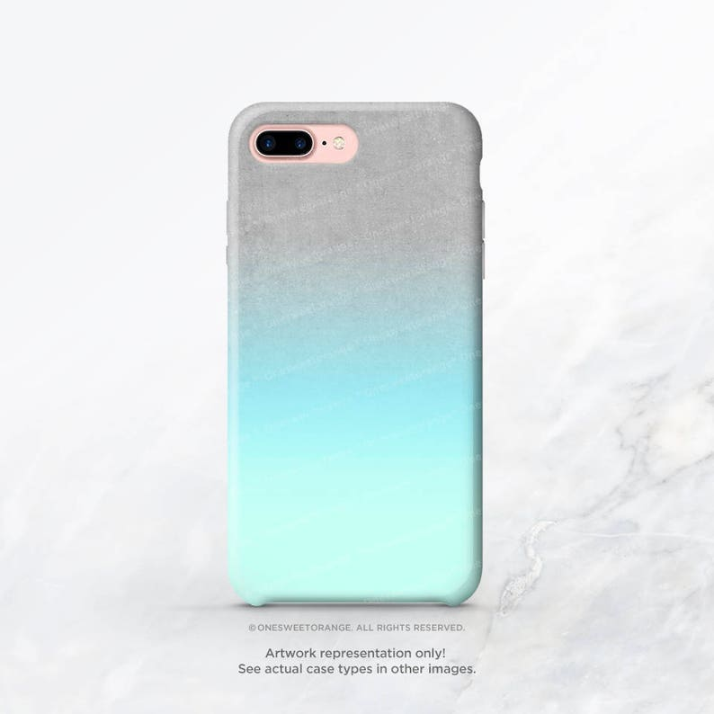 iphone xs case aqua