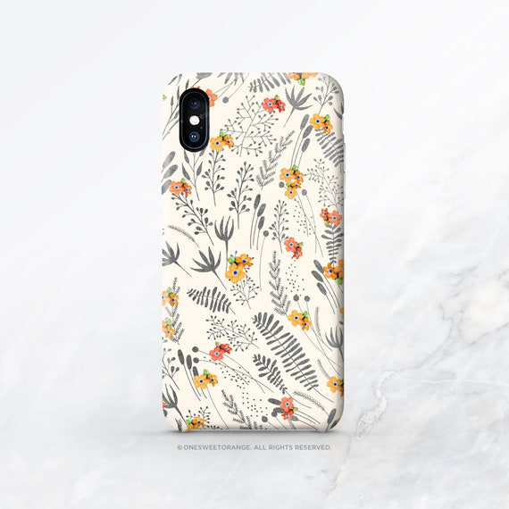 Palestinian Flowers Embroidery iphone 11 case