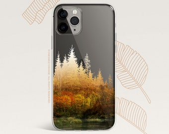iPhone 12 Case Men's Forest iPhone 11 Pro Case Clear Rubber iPhone 11 Pro Max iPhone XS iPhone XS Max iPhone XR iPhone X iPhone 8 Case U526