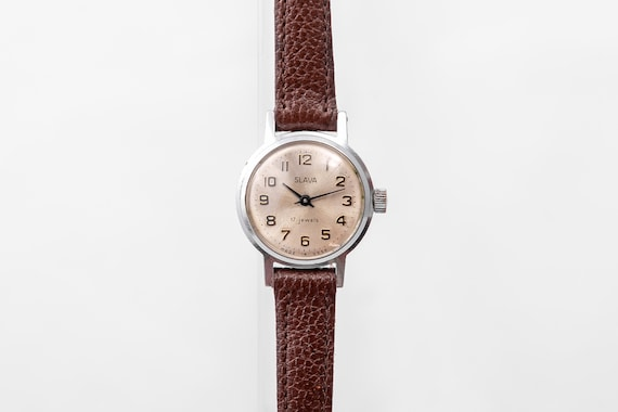 Slava ladies watch,soviet ladies watch,classic wom