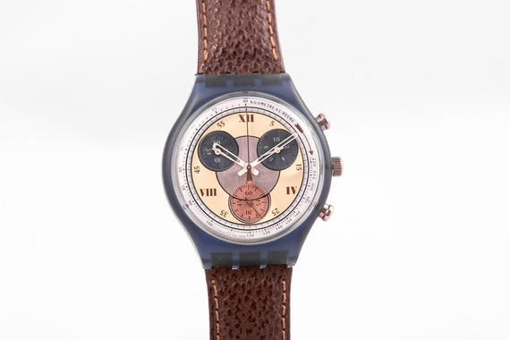 Swatch vintage chronograph,vintage swatch,swatch a