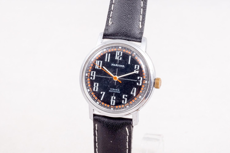 Schweizer Pratina Jahrgang Herrenuhretsy Uhr 4l35rja 5jRA4L3