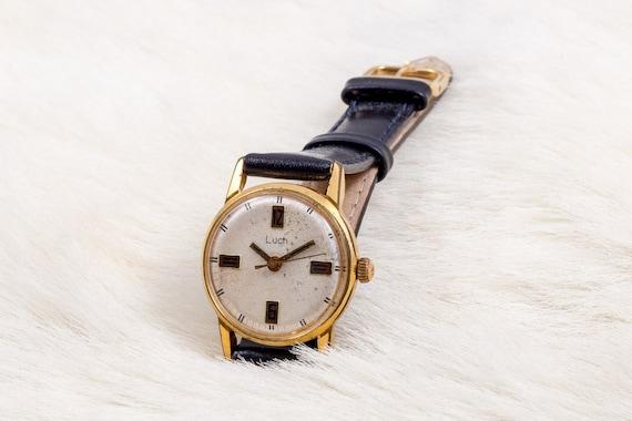 Luch Damenuhr Gold Damen Uhr Uhren Gold Damen-Uhr für   Etsy 9d40a93cdd
