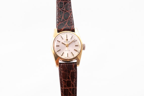 Tissot ladies watch,gold ladies watch,vintage ladi