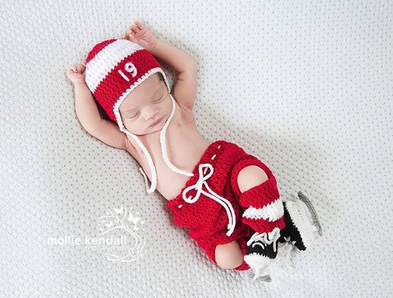 Baby Hockey Outfit Baby Kleidung Häkeln Hockey Skates Etsy