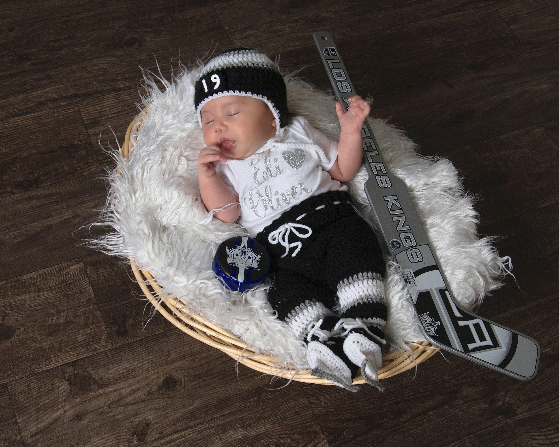 Hockey Baby Boy Clothes Crochet Baby Hockey Skates Newborn