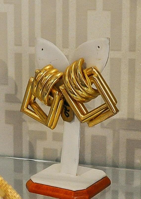 Mid century earrings