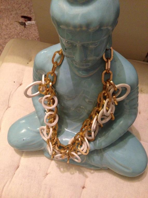 Mid- century modern necklace