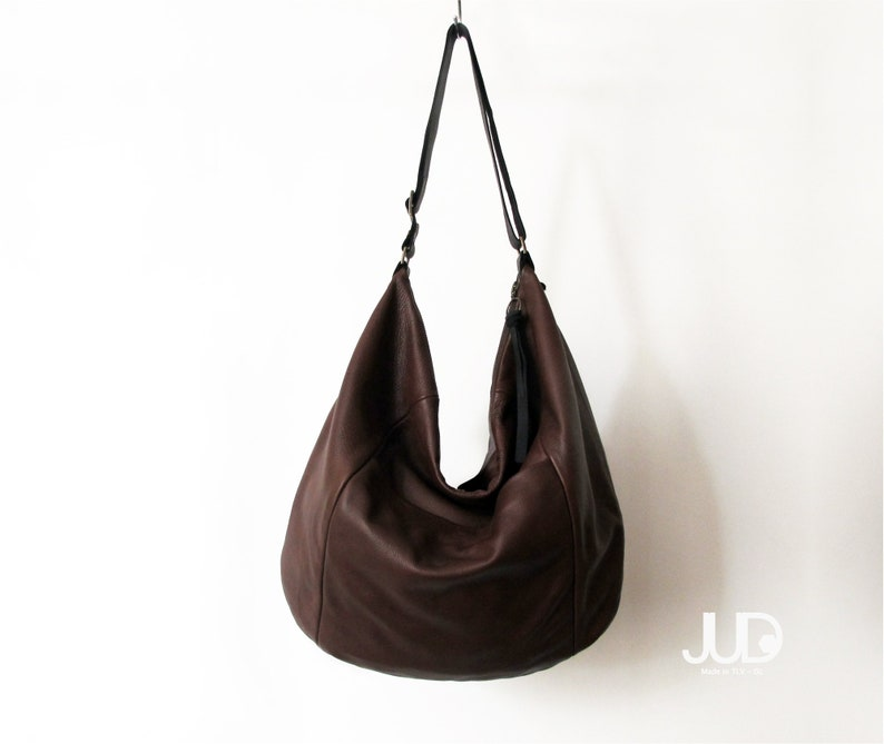 0a14b19c7160 Coffee Brown leather hobo bag soft leather purse leather laptop bag women  slouchy leather tote bag women shoulder bag large crossbody bag