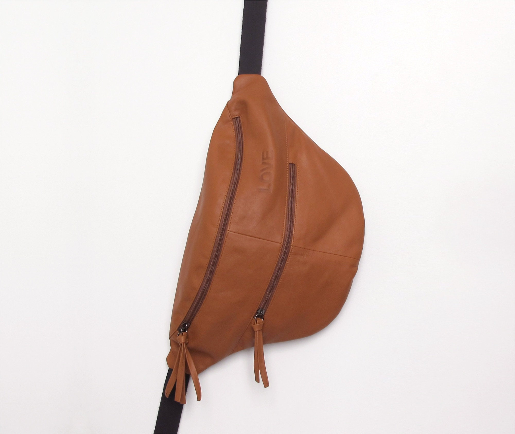 d0e3773d0364 3in1 camel brown leather crossbody bag leather hobo bag-soft leather bag  slouchy leather bag- leather sling bag- Handmade leather bag JUDTLV