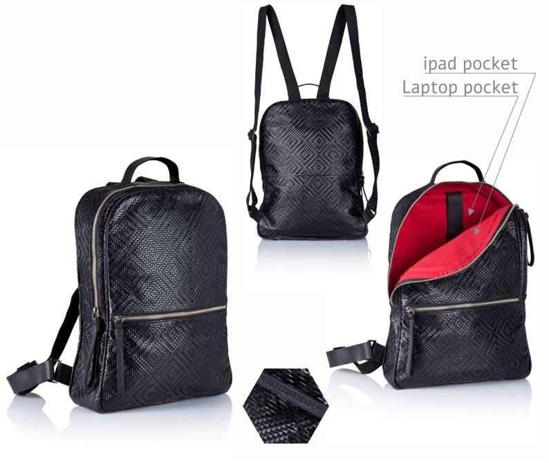 98c829225 Black leather backpack leather satchel SALE black leather | Etsy