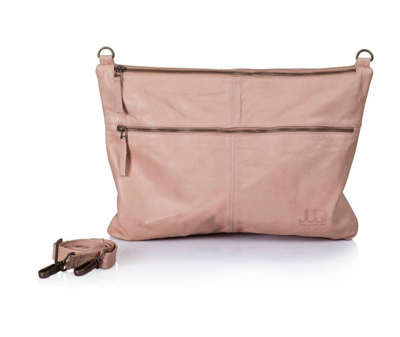 c16ee8acca6b Tan nude leather bag soft leather purse SALE crossbody bag
