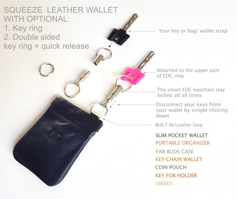 leather coin pouch  SALE slim leather wallet leather card holder slim leather purse wallet small wallet JUDtlv Woven Black leather wallet