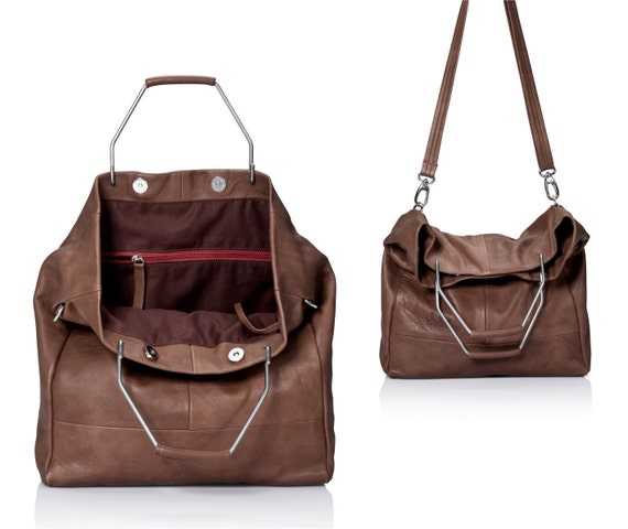 Brown leather bag leather tote purse women handbags SALE   Etsy c581dcbe12