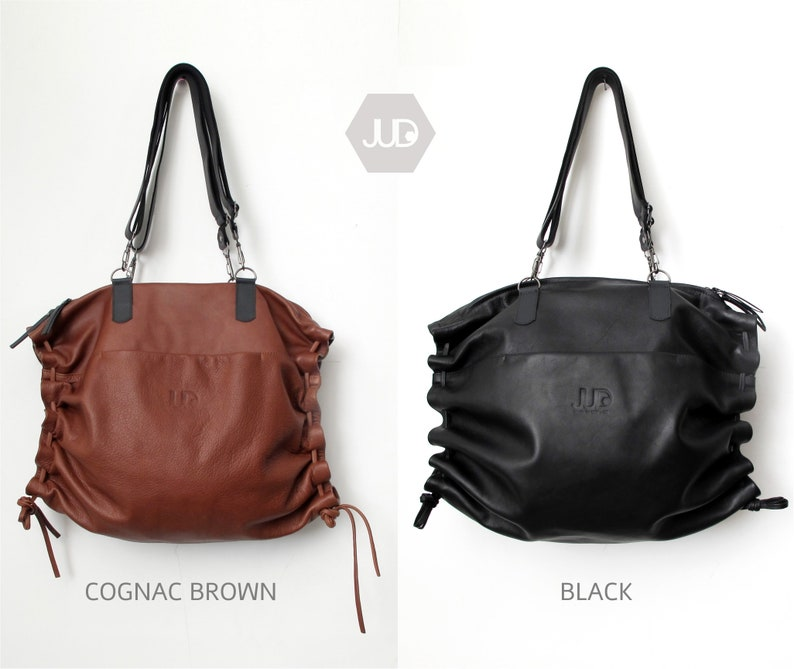 28ae64301d Large soft leather tote women convertible leather backpack