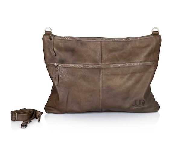 5881fb80ed98 Gray leather bag crossbody leather purse SALE leather