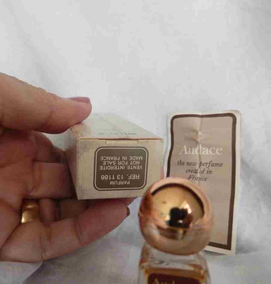 1970s Rochas Audace perfume 1/8 oz. Flacon