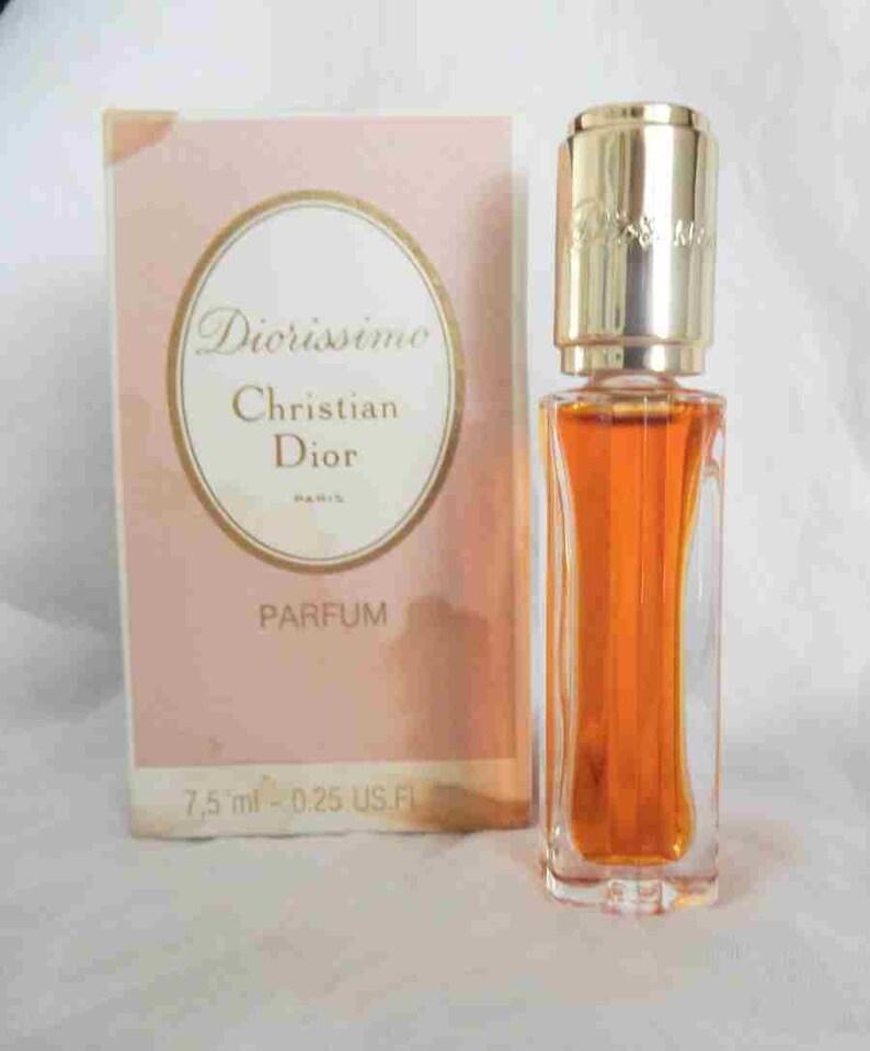bf0b9528 1970s Christian Dior Diorissimo Perfume 7.5 ml