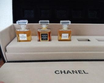 Vintage Chanel Perfume Set Allure No. 5 and COCO partial set in Box